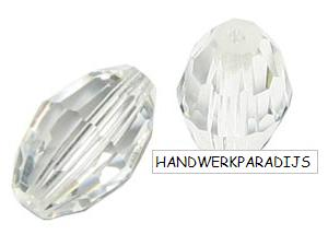 Swarovski 5200 Crystal 10.5 x 7mm 1 Pc.